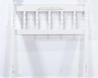 Twin Size White French Provincial Headboard