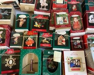 unopened Hallmark ornaments