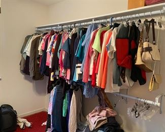 Women's clothes, mostly size 12-14