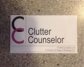 Sale operated by Clutter Counselor, Inc.