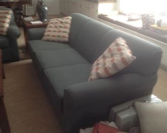 Matching soft green sofa....$115