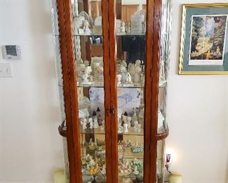 Curio Cabinet that opens in the front