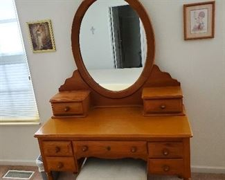 Bassett Oak Vanity