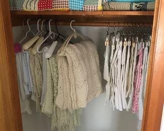 Lots of pretty linens