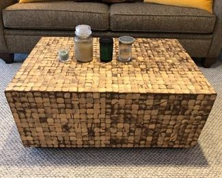 Modern coffee table.