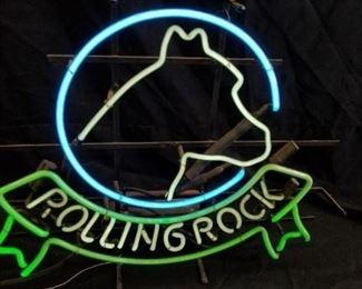 Rolling Rock Neon Light