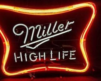 Miller High Life Neon Light Sign