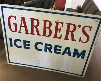 Garber's Ice Cream Marquee Sign