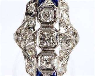 Art Deco Platinum
