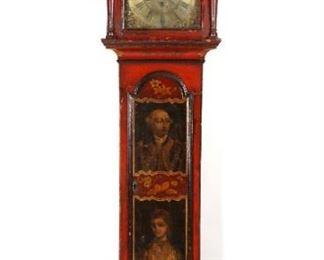 Chinoiserie English Clock