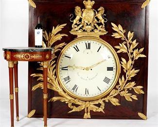 George lll Brockbanks Royal Exchange Clock
