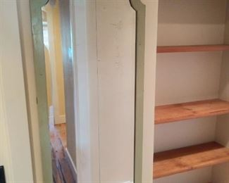 Great old antique painted mirror