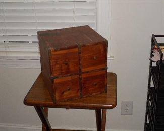 4 Drawer Cedar box