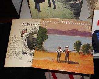 Vinyl- Will the Circle Be Unbroken; Flatt & Scruggs
