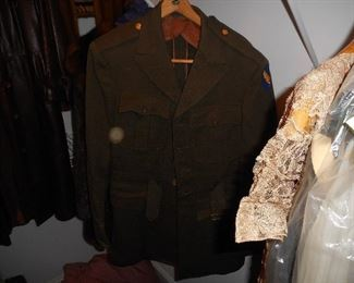 WWII Army Air Corps Officer's Coat