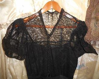 Black Lace dress (Mourning?)