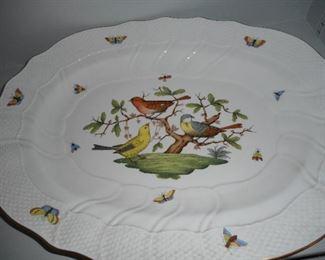 Bird Platter Underneath