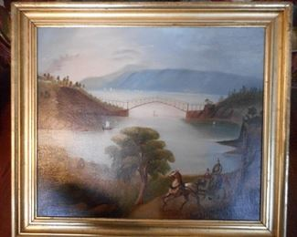 Early 1800s Oil on Canvas