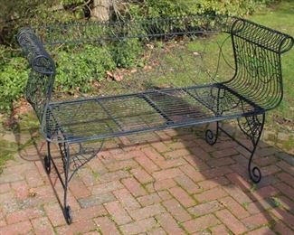 Delightful Wire Bench