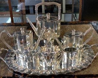 MCM sterling silver Coffee-tea set