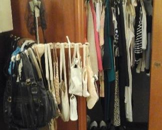 vintage and newer purses