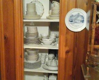 Various china sets