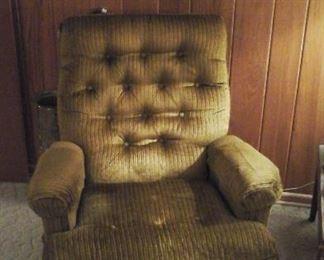 very comfortable vintage Barcalounger