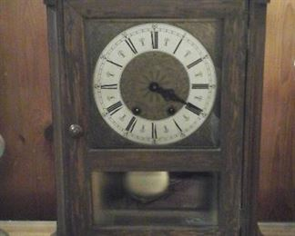 Handmade clock (working )