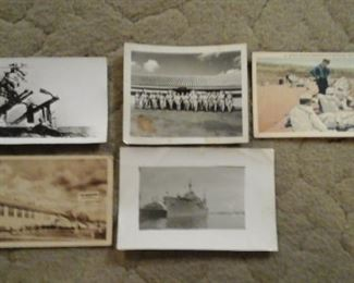 WWII postcards and photographs