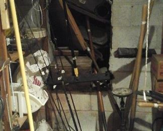 Fishing rods and miscellaneous