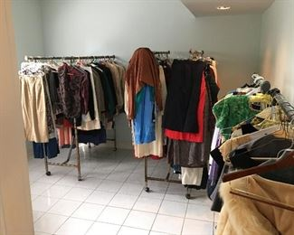 Vintage 70's 80's to present Mens and ladies clothing Many with tags