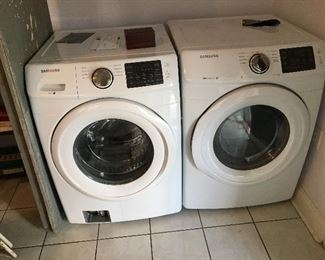 Samsung stackable full size washer dryer