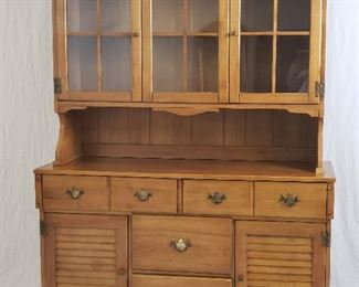 Amish Heritage Colonial Sideboard & Dutch Cupboard