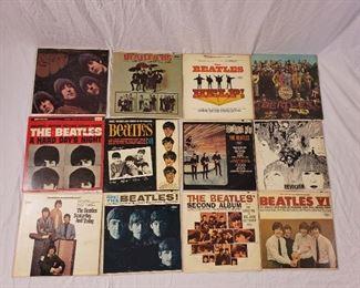 Beatles Records Lot
