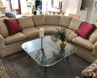 Large curved sectional