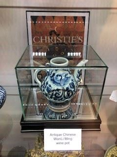 Antique Chinese wine pot from The Ming Dynasty