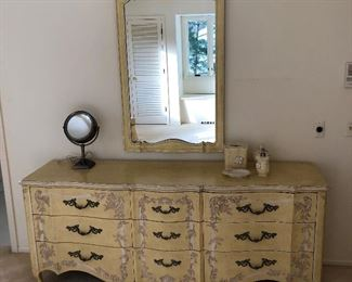 John Widdicomb dresser with mirror.