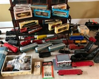 Vintage Toy Train Collection