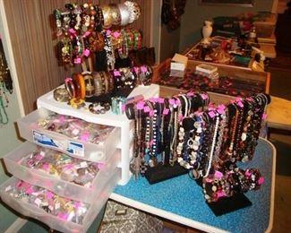 Jewelry, Necklaces, Bracelets, Cuff Links, Tie Tacks, Rings, etc.