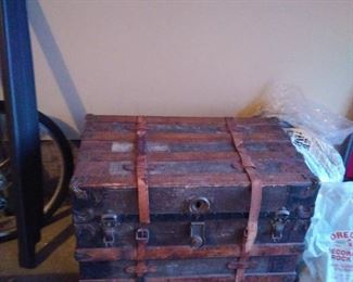 ANOTHER ANTIQUE TRUNK