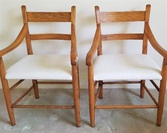 Two mid-century chairs. Sold separately.