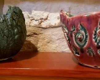 One of a kind pottery