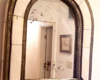 Turkish Bone mirror,  small