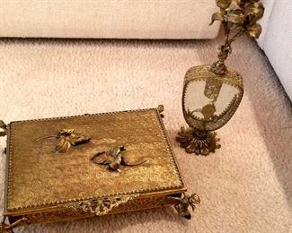 Antique dresser set