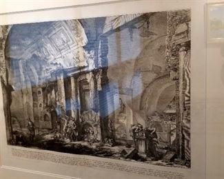 Giovanni Piranesi, calligraphy