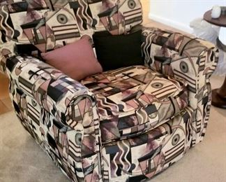 Chair with Picasso print