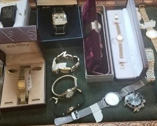Vintage men's and women's watches