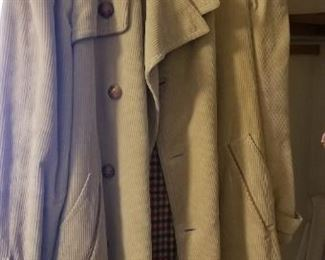 Vintage trench coat purchased in Spain