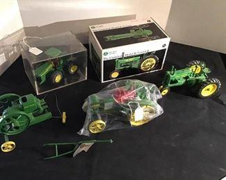 John Deere Model Tractors