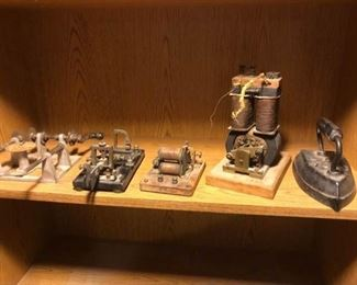 Vintage Telegraph Machine and More